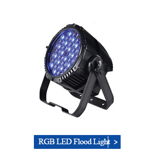 108w rgb led flood light